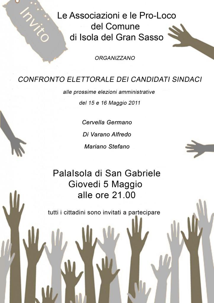 Nuovo confronto elettorale tra i candidati sindaci
