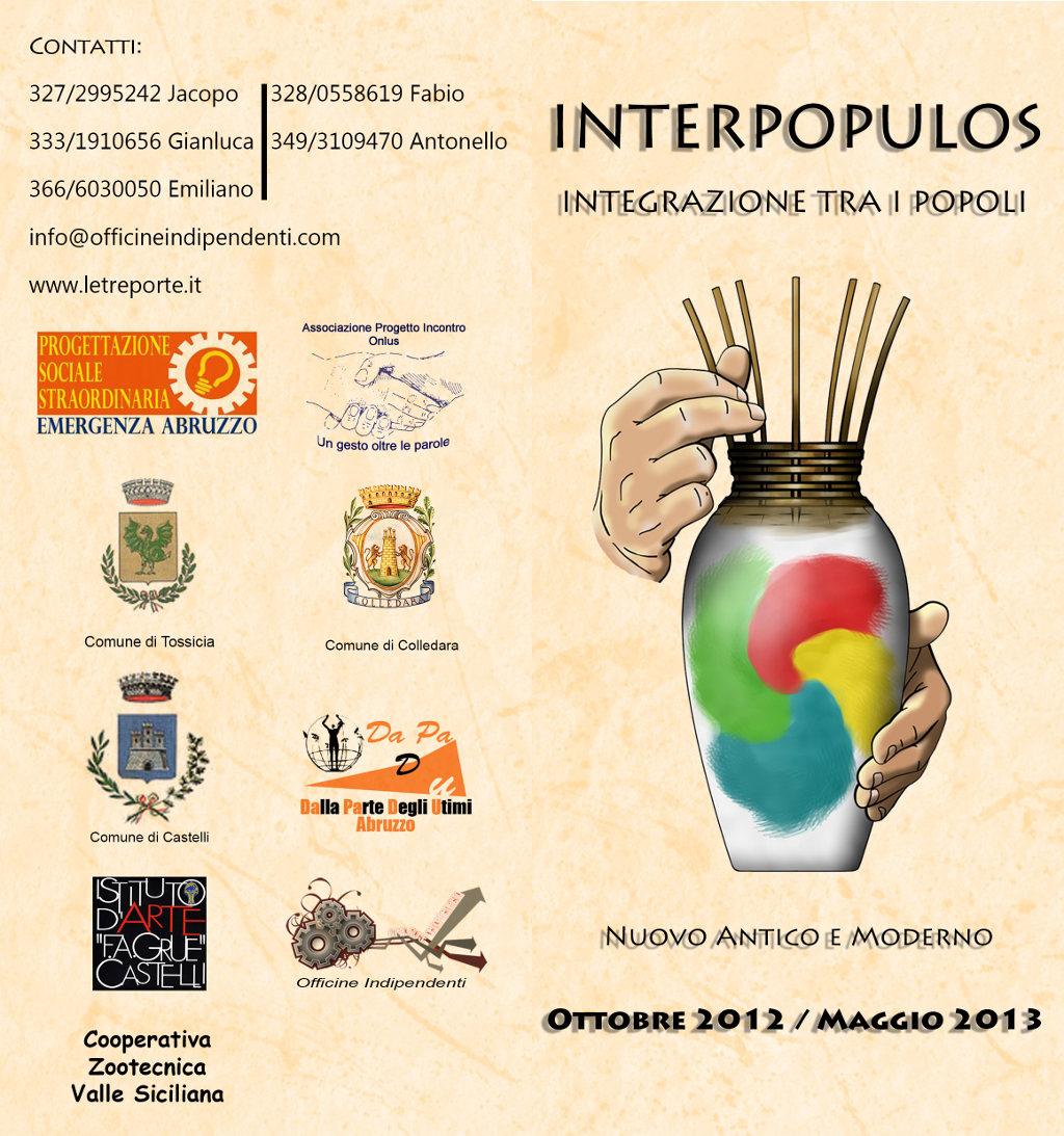 Corsi del progetto INTER-POPULOS, primo incontro