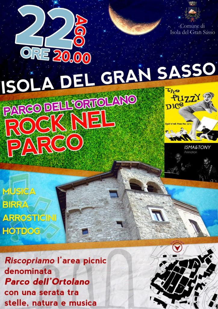 Rock nel Parco