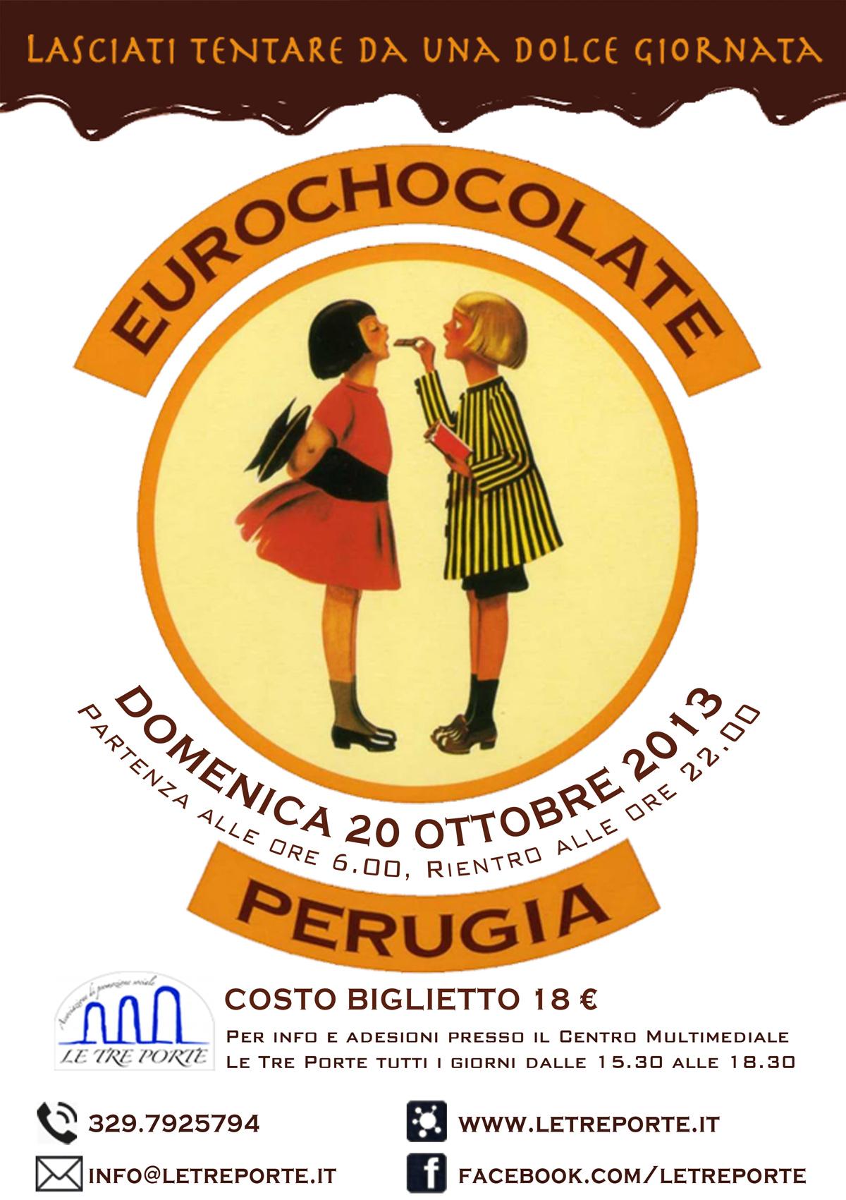 Giornata a Eurochocolate a Perugia