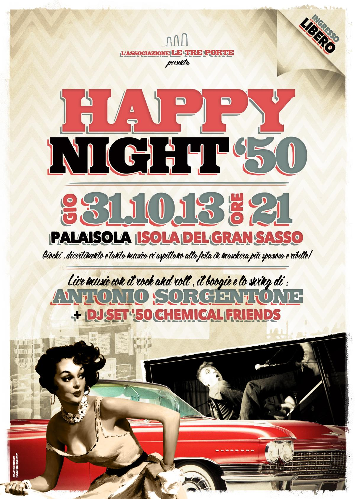 Happy Night '50 – 31.10.13
