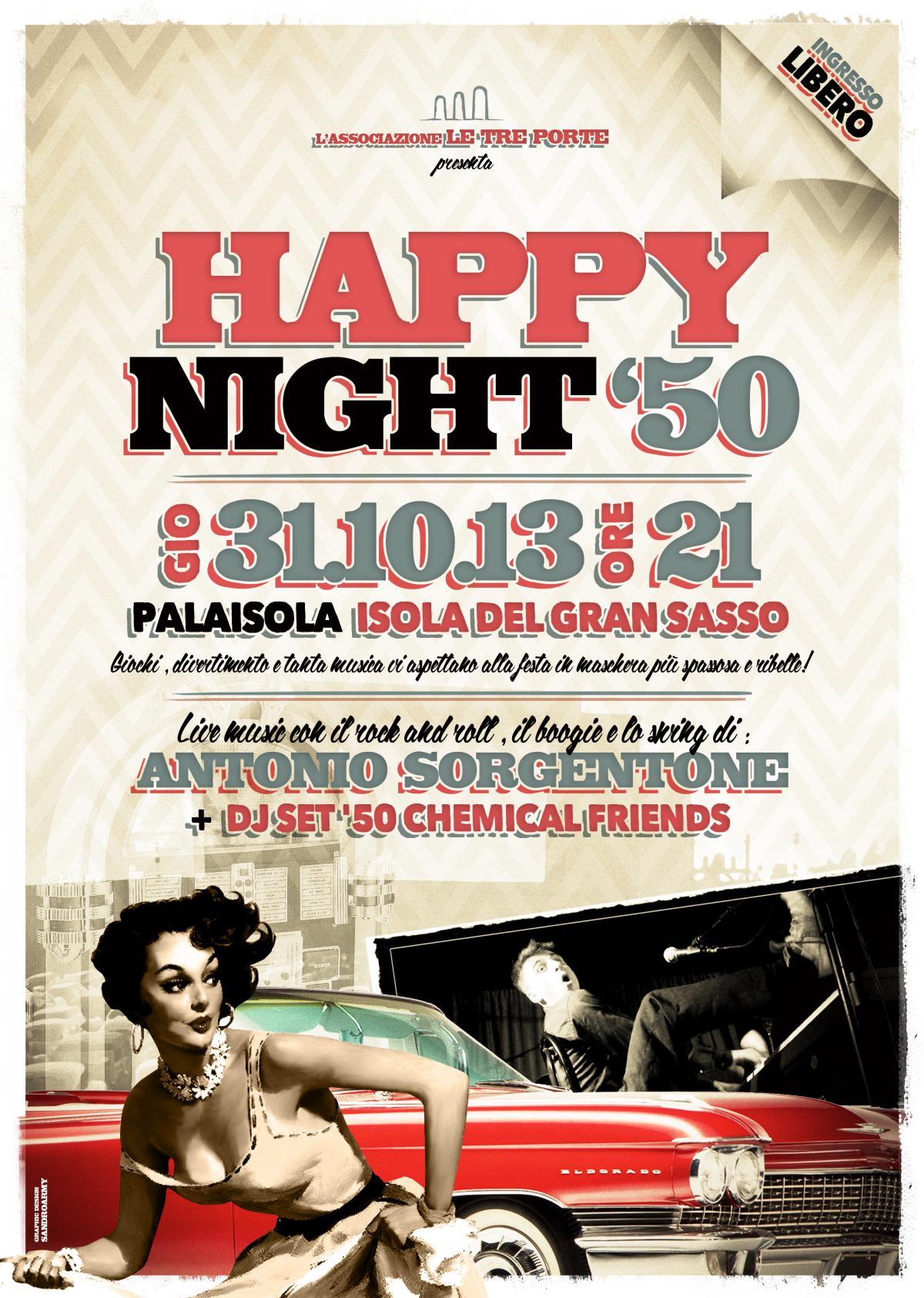 Happy Night '50 – 31.10.13