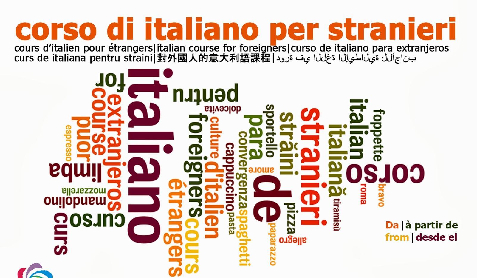 Corsi gratuiti di Italiano per stranieri