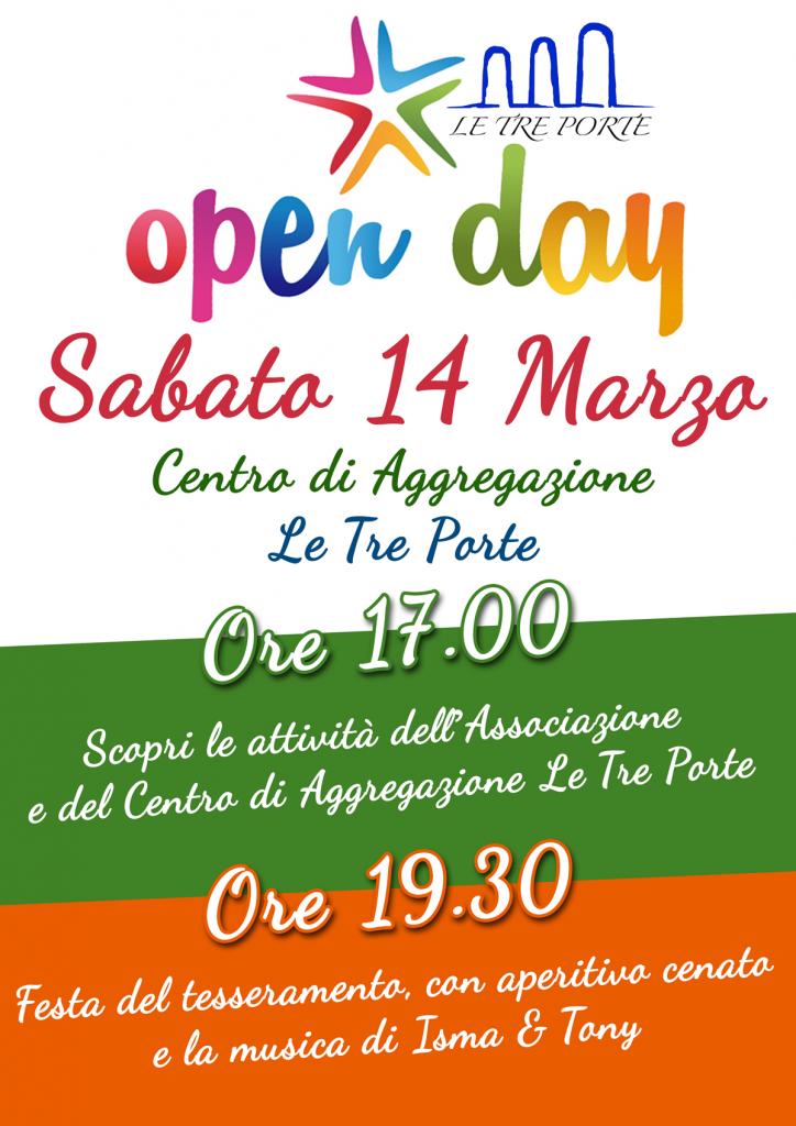 Openday Le Tre Porte 2015
