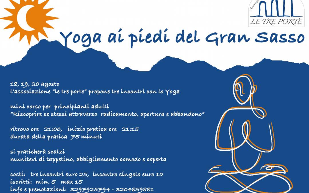 Mini corso di yoga